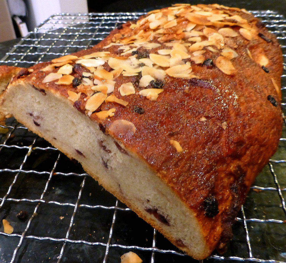Dried Blueberry and Buttermilk Bread