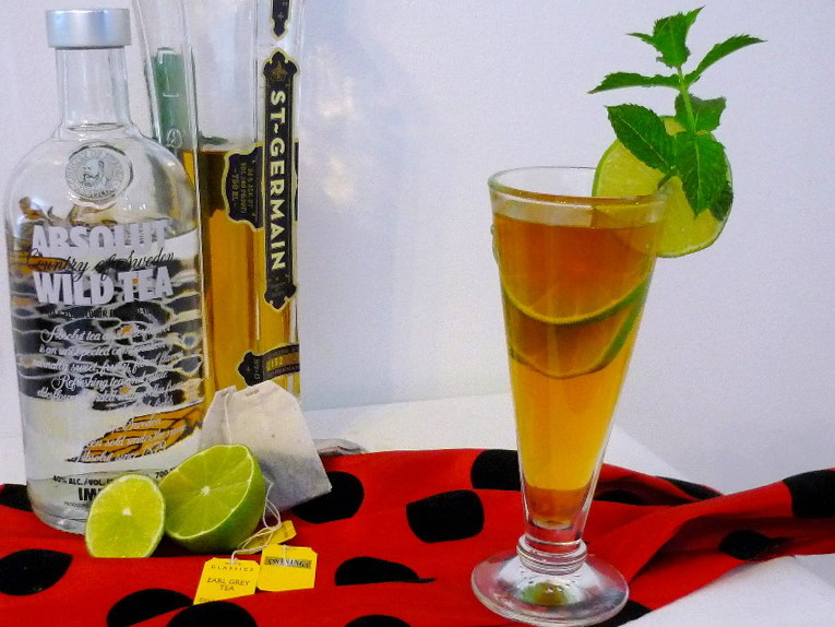 Elderflower Iced Tea