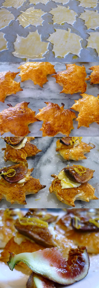 Honeyed Fig and Mascarpone Puffs