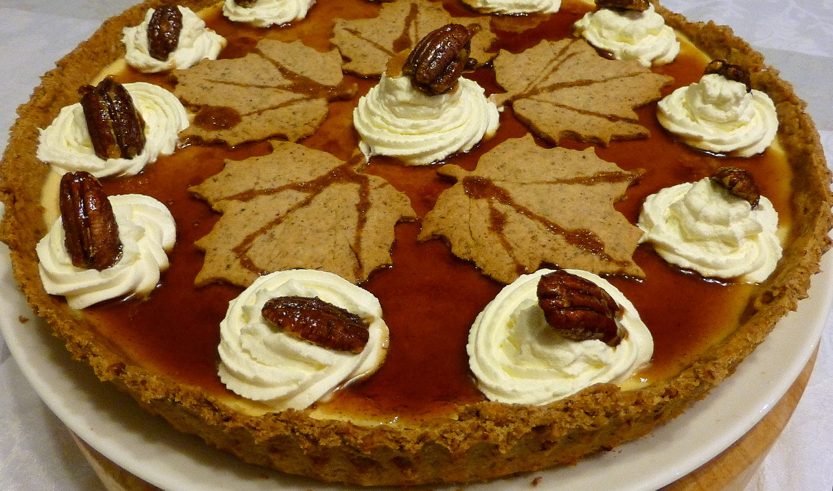 Maple and Pecan Creme Tart