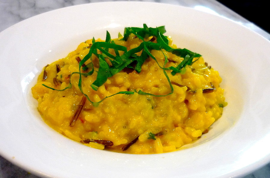 Pumpkin, Sage and Saffron Risotto | the cooking bug