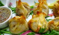Beef and Ginger Sesame Dumplings