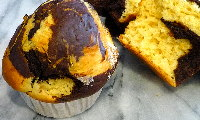 Choc Orange Mega Muffins