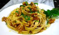 Fettuccine with Walnuts