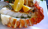 Lobster Tails with Tarragon Butter
