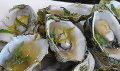 Oysters with Champagne Tarragon Butter