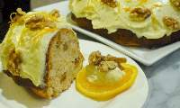 Banana, Orange and Walnut Cake