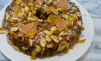 Pomelo and Honey Cake